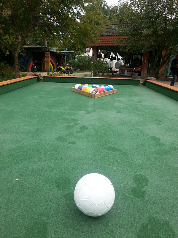 Fussball Billard
