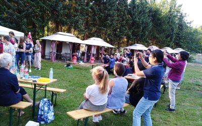 Willkommensfest für chinesische Schüler